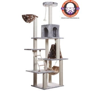 Stylish Armarkat Blue Cat Tree Scratcher With 2 Condos|https://ak1.ostkcdn.com/images/products/4413804/P12374061.jpg?impolicy=medium