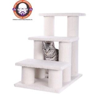 Armarkat White Pet Steps