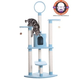Armarkat 65-inch Condo Cat Tree Scratcher