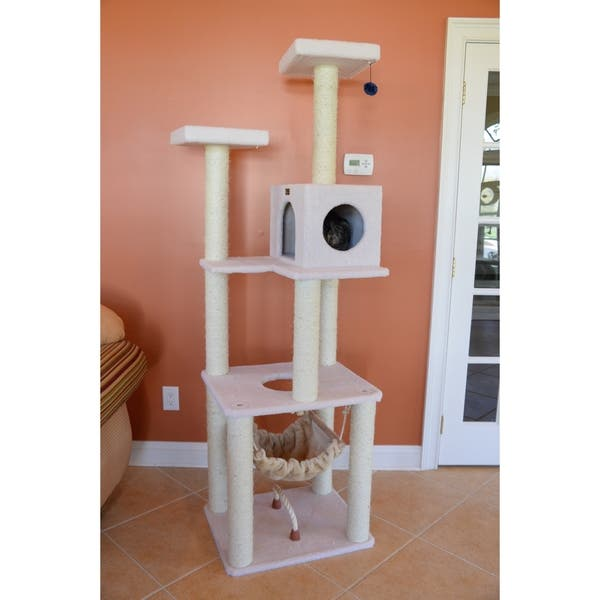 Armarkat Deluxe Cat Tree House Condo