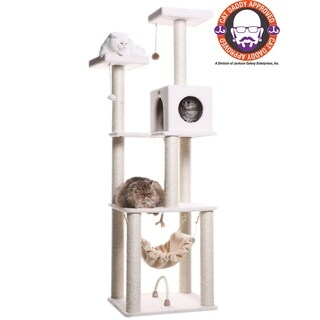 Armarkat Deluxe Cat Tree House Condo