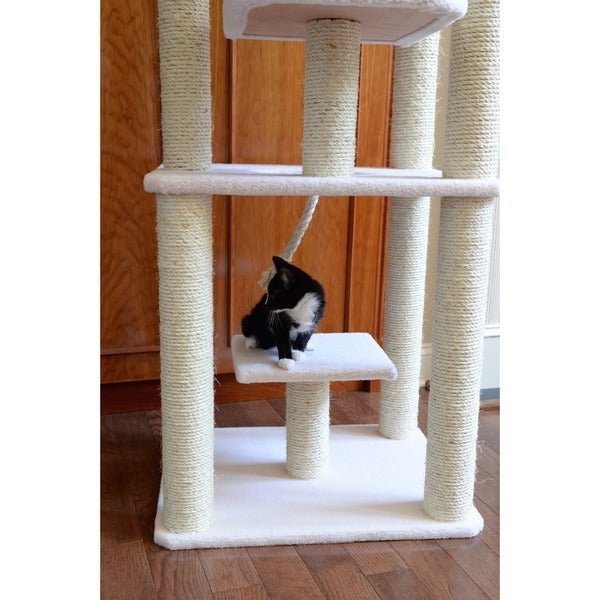 Armarkat Cat Tree Condo Scratcher   Free Shipping Today   Overstock.com    12374075