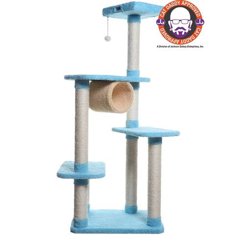 Armarkat Premium Sky-Blue Cat Condo Pet Furniture