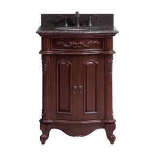 Link to Avanity Provence 25-inch Single Vanity in Antique Cherry Finish with Top and Sink Similar Items in Bathroom Vanities
