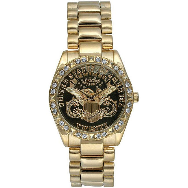 Overstock Memory Foam Mattress ... Gold Bracelet Watch - Free Shipping Today - Overstock.com - 12375251