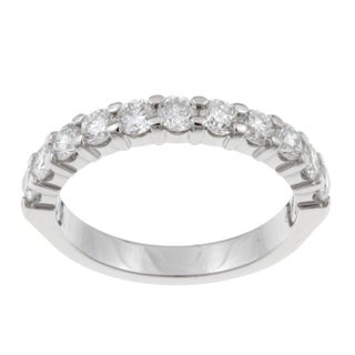 Unending Love 14k White Gold 1ct TDW Diamond Anniversary Band (More options available)