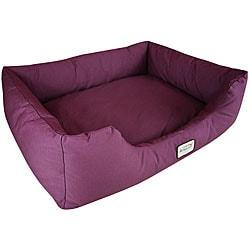 Armarkat Large Burgundy Pet Bed
