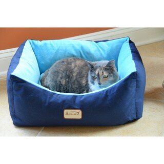 Armarkat 18-inch Navy/ Sky Pet Bed