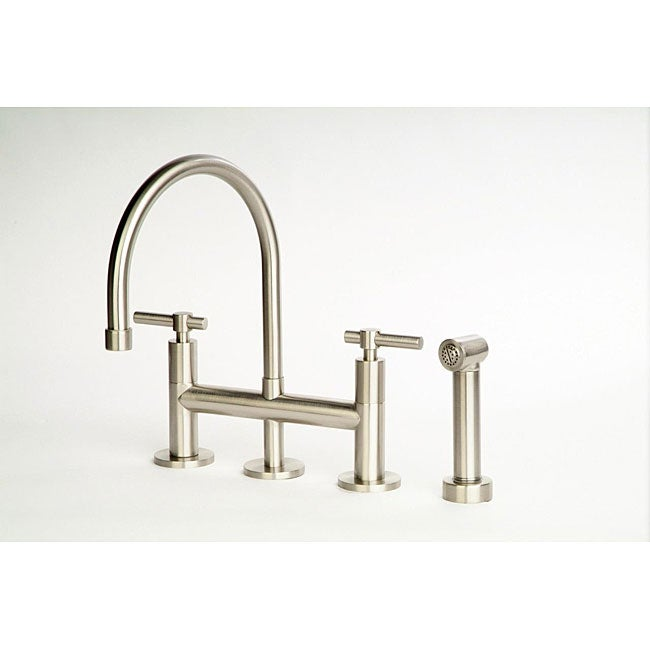 Dolo Bridge Kitchen Faucet With Side Spray Free Shipping