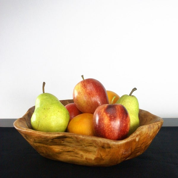Handmade Enrico Rootworks Extra Large Flat Cut Root Bowl (China)