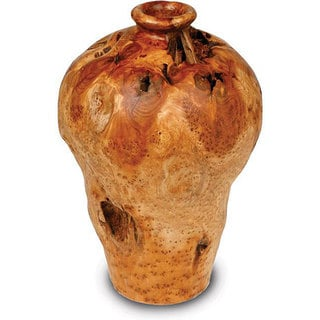 Enrico Medium Root Wood Urn