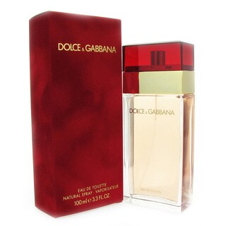 Dolce & Gabbana Women's 3.4-ounce Eau de Toilette Spray