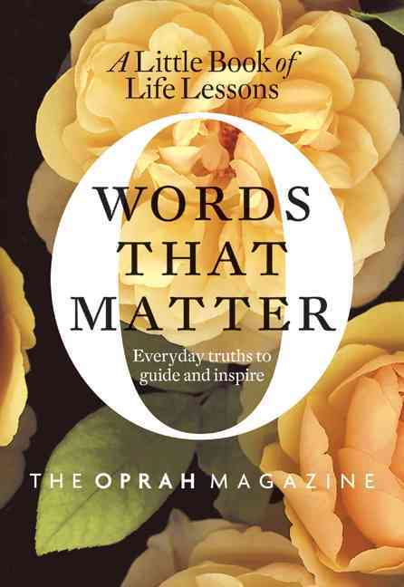 Words That Matter: A Little Book of Life Lessons (Hardcover)