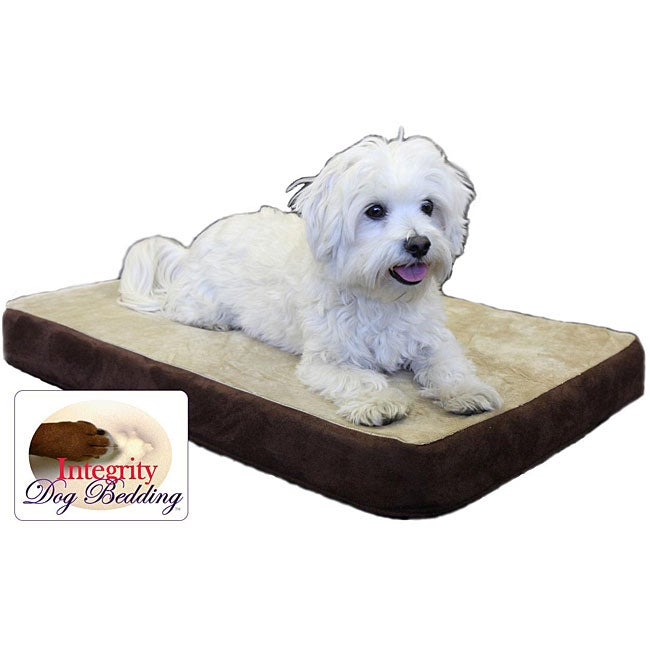 "Small 20"" x 28"" Orthopedic Memory Foam Dog Bed"