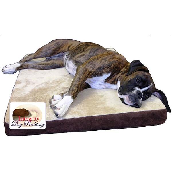 "Medium 26"" x 36"" Orthopedic Memory Foam Dog Bed"