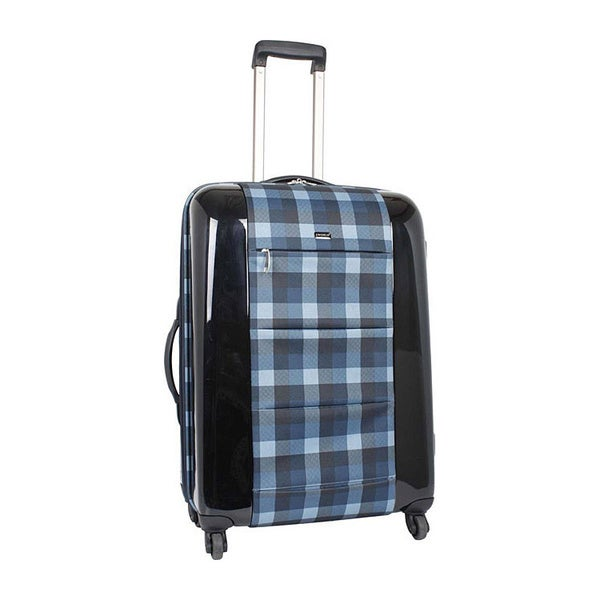 J World 'Laurel' 20-inch Expandable Carry-on Spinner Upright