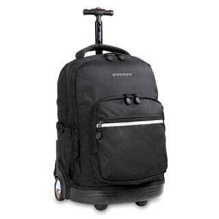 J World 'Sunrise' 18-inch Rolling Backpack