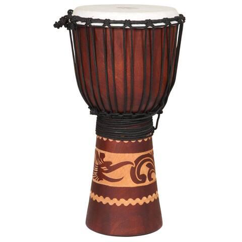Handmade Kalimantan Djembe Drum (Indonesia)