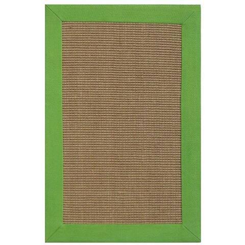 Hand-woven Beige Sisal/ Jute Rug (8' x 10') - 8' x 10'