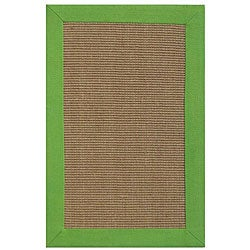 Hand-woven Beige Sisal/ Jute Rug (8' x 10')