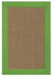 Hand-woven Beige Sisal/ Jute Rug (5' x 8')