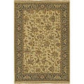 Hand-Knotted Sangli Oriental-Pattern New Zealand Wool Rug (10' x 14')