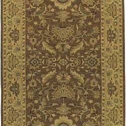 Hand-knotted Sangli New Zealand Wool Rug (10' x 14') - Thumbnail 1