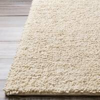 Hand-woven New Zealand Felted Wool Area Rug - 4' x 10'