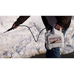 Bare Ground Deluxe Applicator System with 1-gallon Liquid Anti-snow/ De-icer