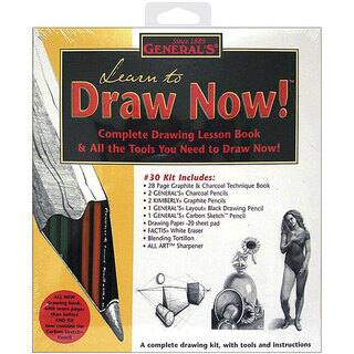 General Pencil 'Learn to Draw Now' Kit|https://ak1.ostkcdn.com/images/products/4421207/P12379633.jpg?impolicy=medium