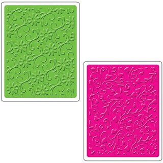 Shop Sizzix Floral Flourishes And Vines Textured
