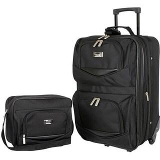Geoffrey Beene Main Street 2-piece Carry-on Luggage Set