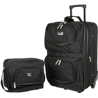 Geoffrey Beene Main Street 2-piece Carry-on Luggage Set