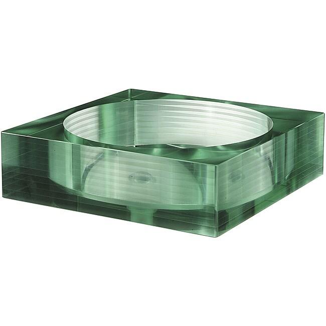 Avanity Segmented Tempered Glass Square Sink Vessel