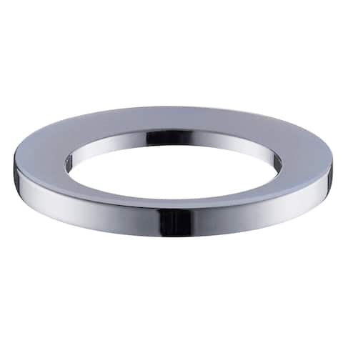"Avanity Chrome Finish Mounting Ring - 3""W x 3""L x 0.4""H"