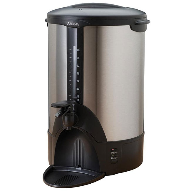 Aroma Stainless Steel 40-cup Coffee Urn