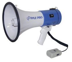 PylePro Professional Megaphone/ Bullhorn with Siren and Handheld Mic - Thumbnail 2