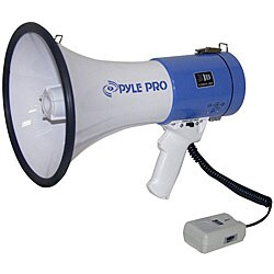 PylePro Professional Megaphone/ Bullhorn with Siren and Handheld Mic