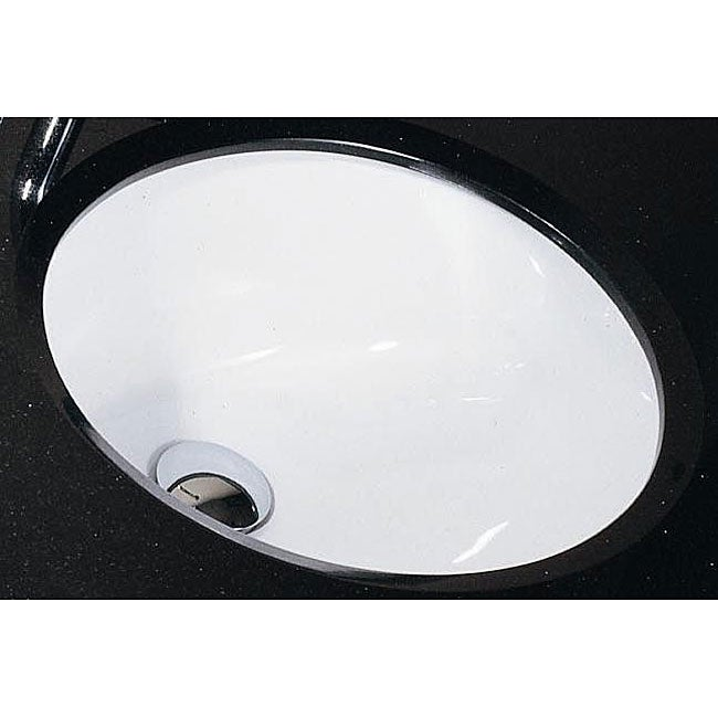 Avanity Undermount 18 Inch White Vitreous China Sink