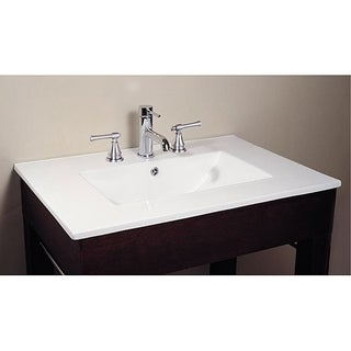 Avanity Vitreous China Top Rectangular Bathroom Sink