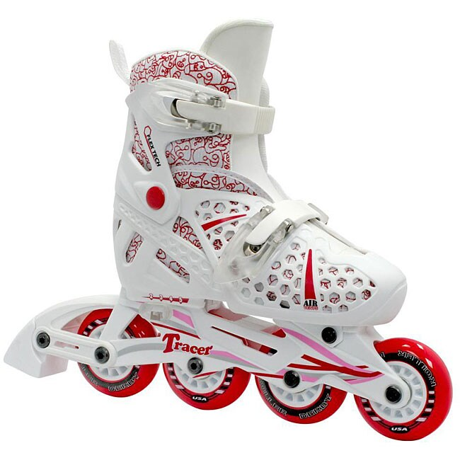 Shop Tracer Girl S Adjustable Inline Skates Free