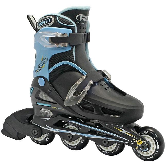 Roller Derby Cobra Boy's Adjustable Inline Skates