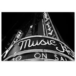 Yale Gurney 'Radio City' Canvas Art - Thumbnail 2