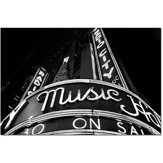 Yale Gurney 'Radio City' Canvas Art