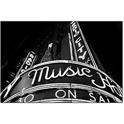 Yale Gurney 'Radio City' Canvas Art - Thumbnail 0