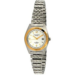Timetech Women's Water-Resistant Two-Tone Stainless-Steel Expansion Watch|https://ak1.ostkcdn.com/images/products/4427193/Timetech-Womens-Water-Resistant-Two-Tone-Stainless-Steel-Expansion-Watch-P12384456.jpg?_ostk_perf_=percv&impolicy=medium