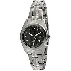 Timetech Women's Grey Dial Round Stainless Steel Watch|https://ak1.ostkcdn.com/images/products/4427204/Timetech-Womens-Grey-Dial-Round-Stainless-Steel-Watch-P12384466.jpg?impolicy=medium