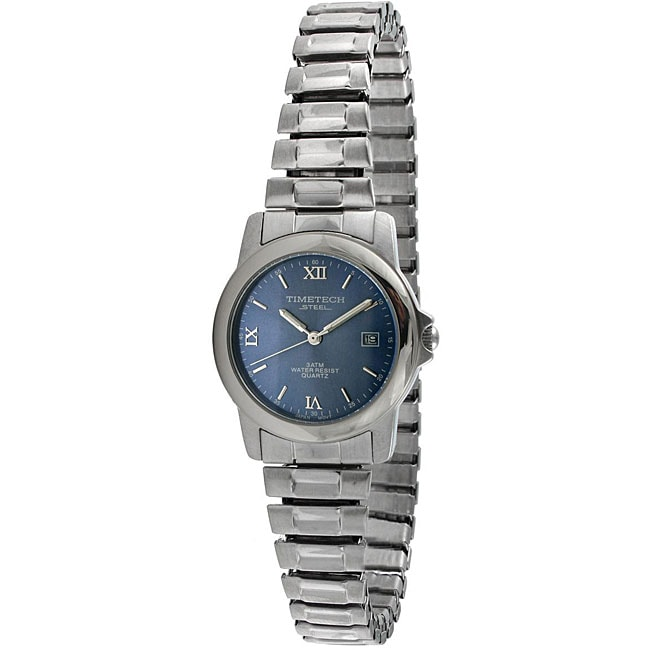 timetech s blue stainless steel expansion