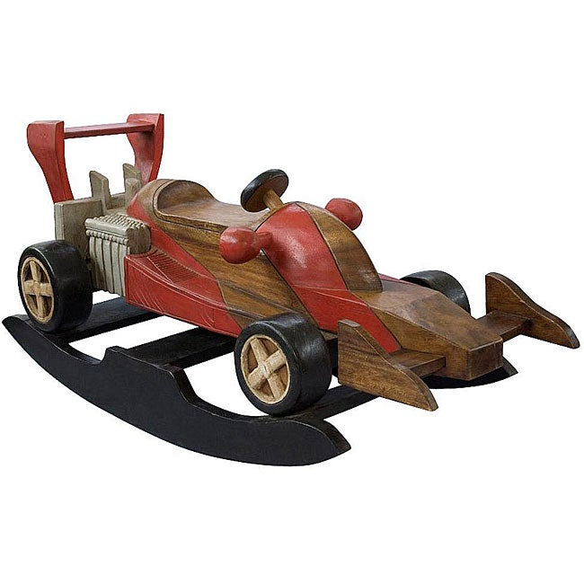 Handmade Kid S Race Car Rocking Horse Thailand Free