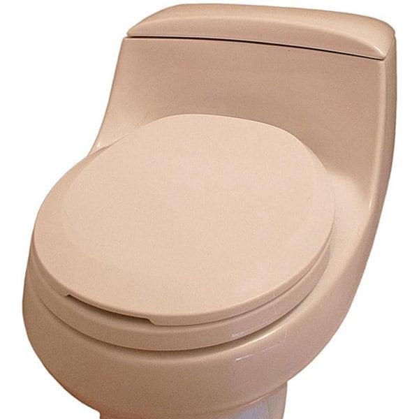Trimmer Hygenic White Toilet Seat